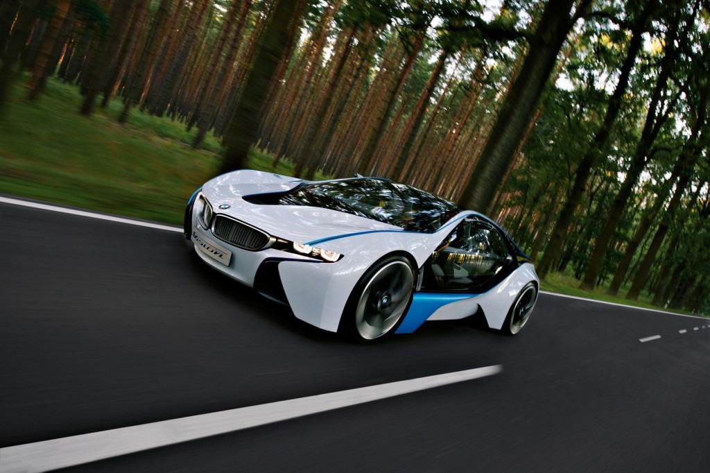 BMW's Vision Efficient Dynamics green supercar