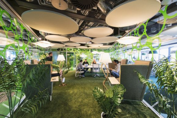 Colourful offices to inspire creativity and innovation, like Google?